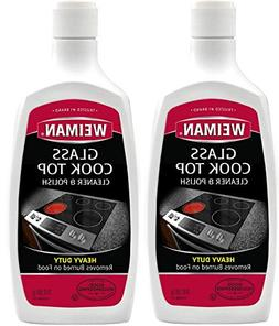 Weiman Glass Cook Top Heavy Duty Cleaner and Polish 20 Oz