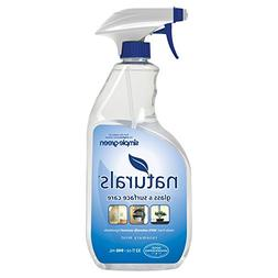 SIMPLE GREEN 3.11E+12 Glass and Surface Cleaner, 32 oz, Clea