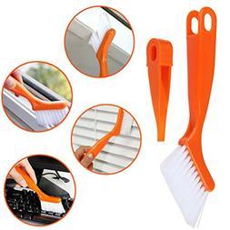 Glass Window Track Corner Cleaners Brush, Cleaning Tools Doo