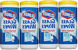 Clorox Glass Wipes, Radiant Clean - 32 Count Each  )