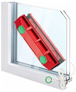 Magnetic Window Cleaner For Hard To Reach Outer Window Side