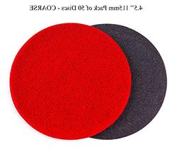 GP13404 GP-PRO150 COARSE Grade Sanding Disc for Glass, Silic