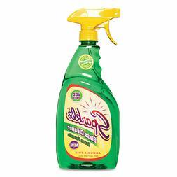 Green Formula Glass Cleaner, 26oz Spray Bottle