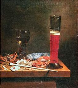 'Jan Jansz Van De Velde,Still Life With Leveling Glass,1660'