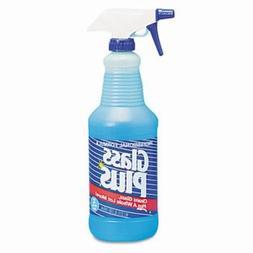 Johnson Diversey Glass Plus Trigger Sprayer Glass Cleaner, 3
