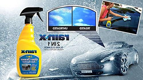 Rain-X Cleaner and Repels rain, Driving - 23