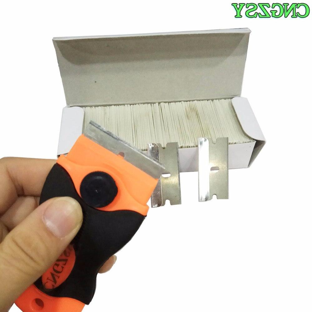 CNGZSY Blades Safety Razor Knife <font><b>Glass</b></font> Carbon Steel Car Tinting