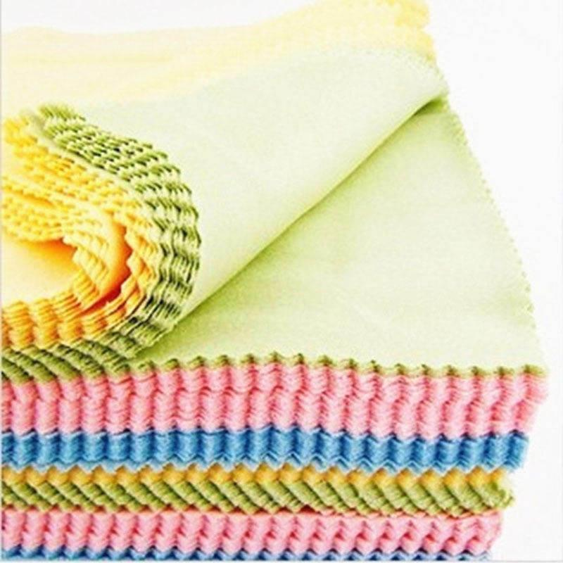 10 universal wipes glasses microfiber cloth eyeglass