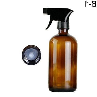 250/500ml Empty Glass Bottle Essential Oil Cleaner with