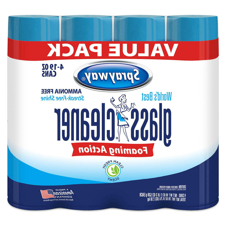 Sprayway Glass Cleaner  - No ammonia, Streak free