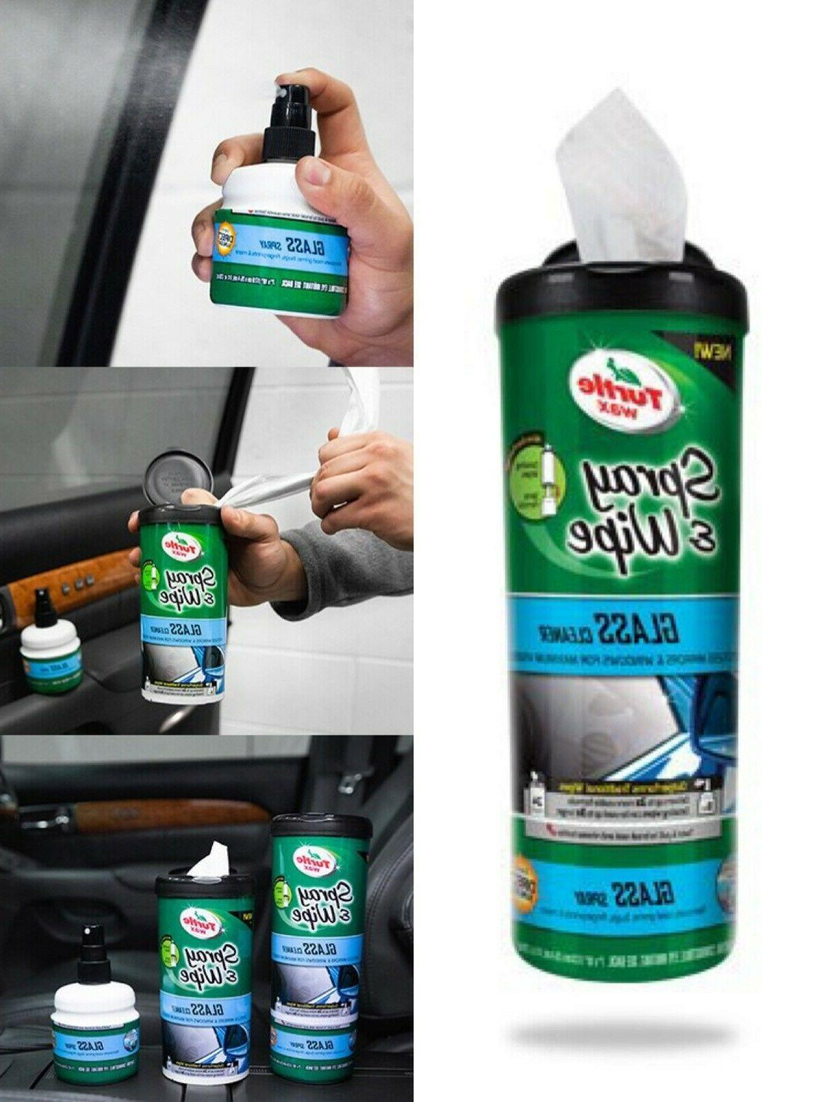 TURTLE WAX 50938 & GLASS CLEANER NEW