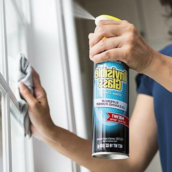 Invisible Glass 91160 Glass 19 fl. oz, Pack with EZ Grip Can.