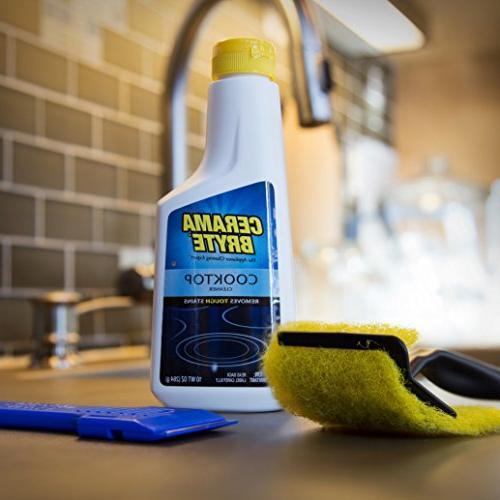Cerama Cooktop Cleaning 10 oz. of Cerama Bryte 1 1 Scraper