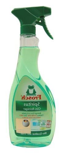 Frog alcohol glass cleaner spray bottle 500 ml by Frosch