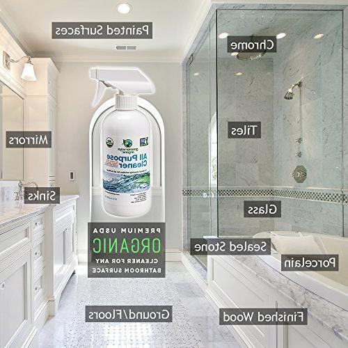 Greenerways Organic Natural Best Household Spray Home, Pack