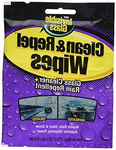 Invisible Glass Premium Glass Cleaner with Rain Repellent -