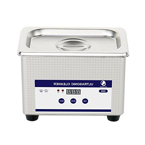 Messer 0.8L Professional Ultrasonic Cleaner Cleaning Equipme