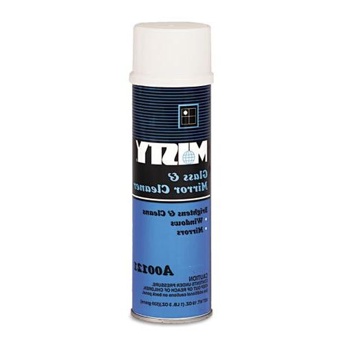Misty - Glass & Mirror Cleaner w/Ammonia, 19oz Aerosol A121-