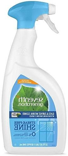 Seventh Generation, Free & Clear Glass & Surface Cleaner 32
