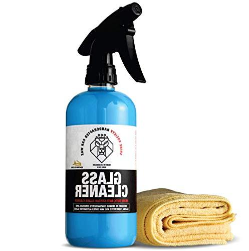 Shine Society Glass Window Cleaner, 100% All-Natural Anti St