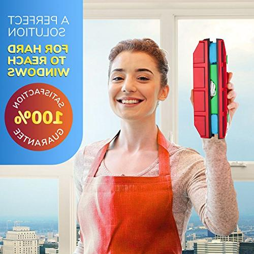 Tyroler Bright Glider D-3, Magnetic Cleaner Double Glazed Windows Fit Window thickness.