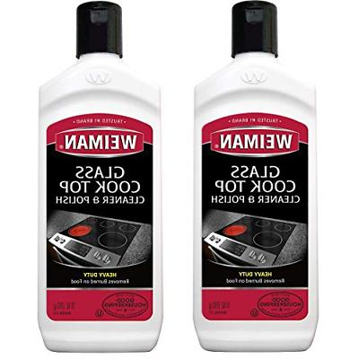 Weiman Cooktop Cleaner and Polish 10 Ounce 2 Pack
