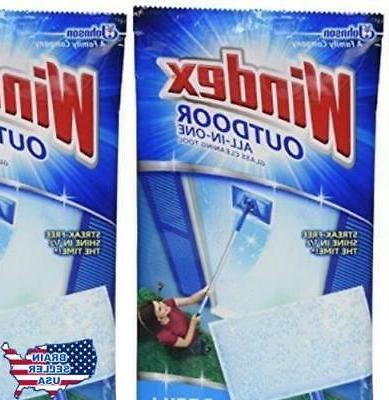 Windex All-In-One Window Pads Refill ct 2 pk