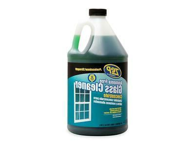 **Ammonia-Free Glass Cleaner, Agradable Scent, 1 gal Bottle
