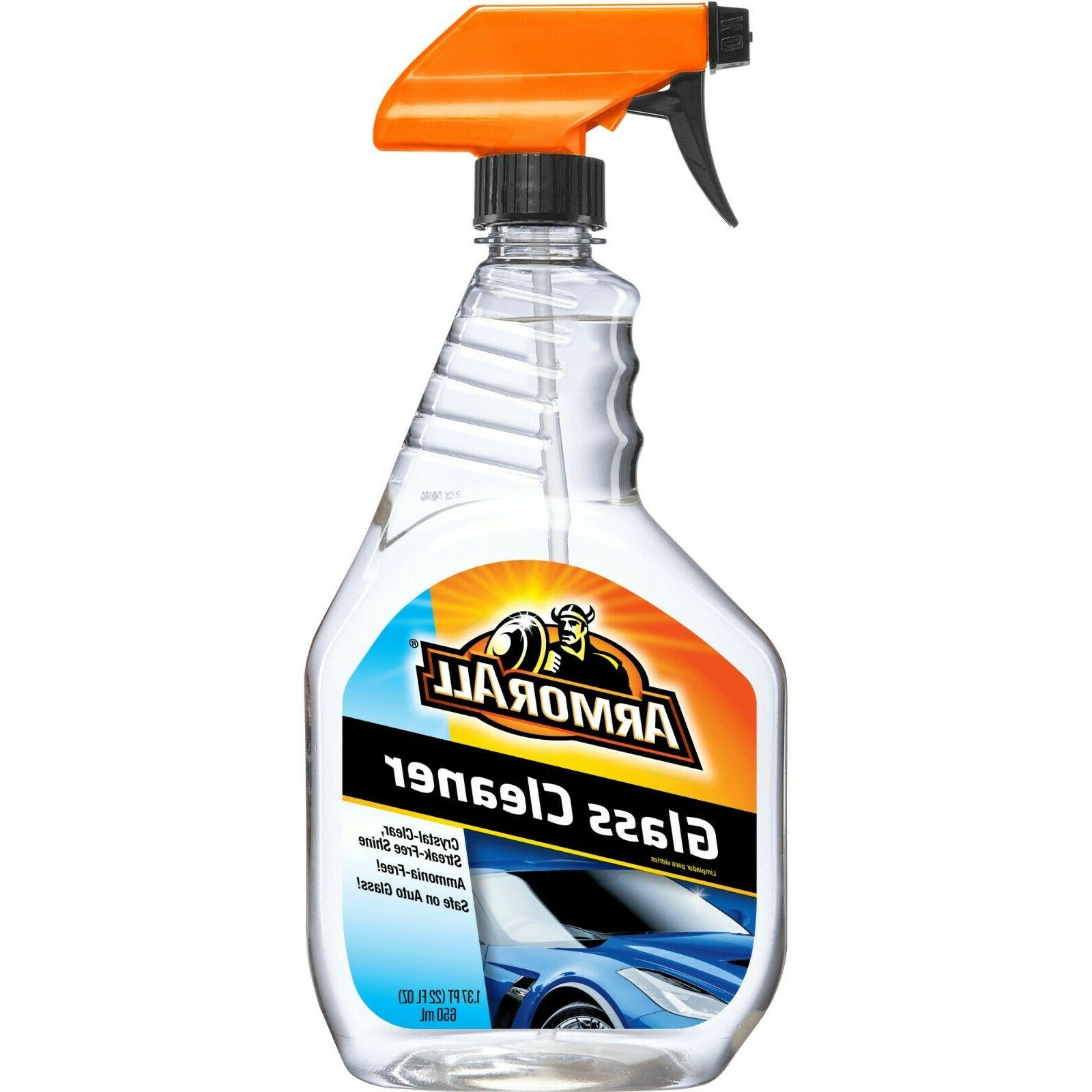 Armor All Auto Glass Cleaner, 22-Fluid Ounce Bottles