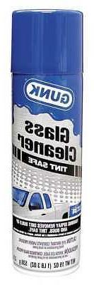 GUNK TGC19 Auto Glass Cleaner,19 oz.,Aerosol Can