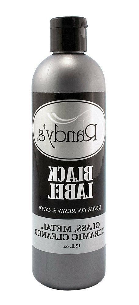 black label glass metal ceramic