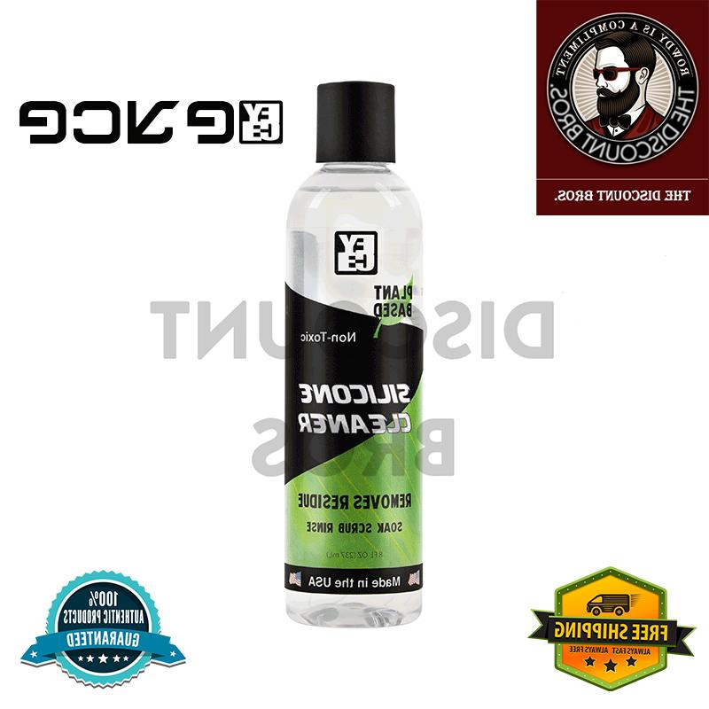 cleaner for glass and silicone glass cleaner