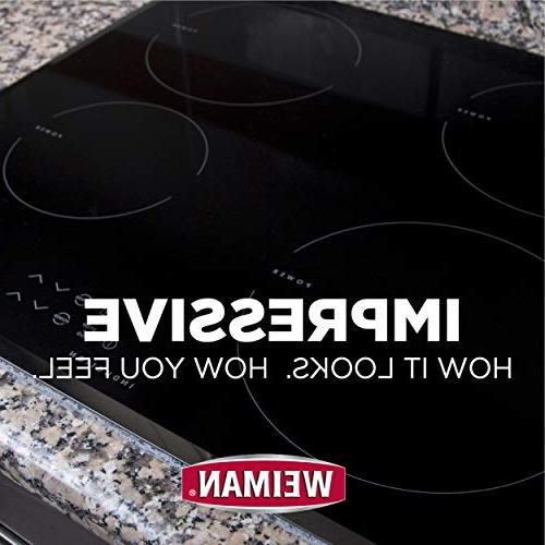 Weiman Glass Ceramic Cooktop Cleaner - Cleaner 12 - Ceramic Cooktop Heavy Duty Mess Burnt Food