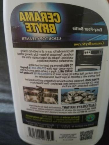 CERAMA BRYTE Cooktop Safe Clean Cook bright 20618