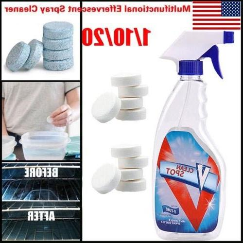 Effervescent Cleaner Multifunctional Auto Oil