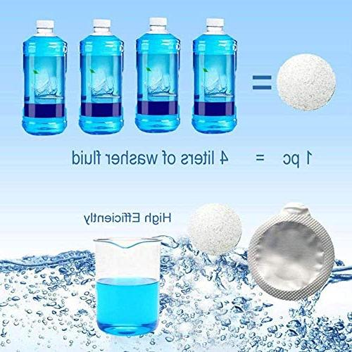 Effervescent Tablets Detergent Cleaner, Effervescent Tablet for Cleaning Window Floor All-Purpose AnyBack x