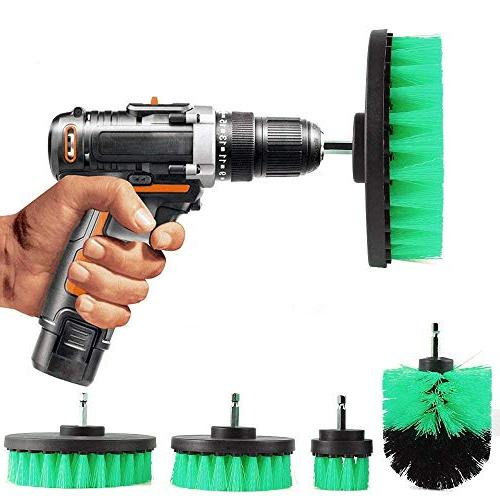 electric drill brush floor carpet