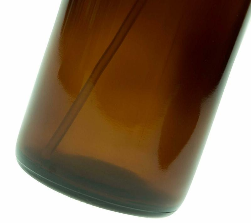 Empty Amber Bottles 16oz Refillable