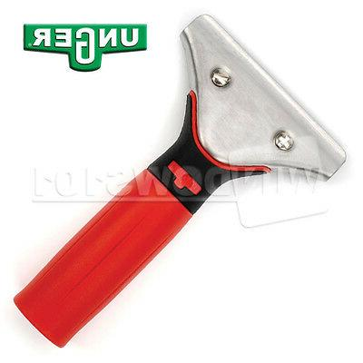 ergotec red handle for window cleaning washing
