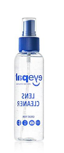 EyePal Lens Cleaning Care Spray for Glasses, Camera & LCD Sc