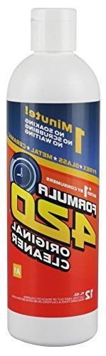 1 X FORMULA 420 PIPE CLEANER - GLASS METAL CERAMIC CLEANSER