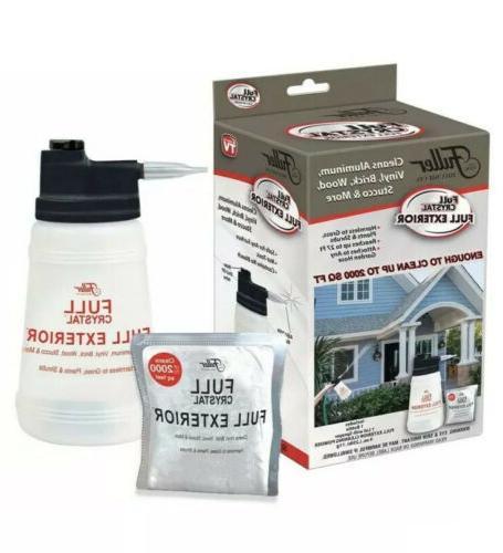 full crystal full exterior outdoor glass cleaner