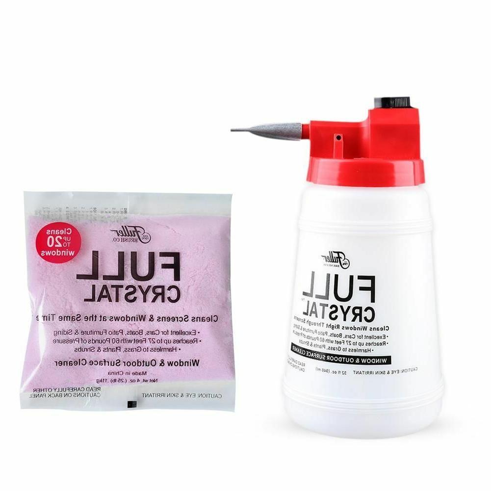 Fuller Crystal Refills Cleaner Wash Spray