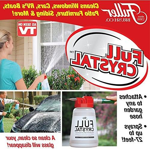 2 Pack Full Purpose Outdoor Sparkle Multi-purpose Cleaning System for Windows and Seen TV