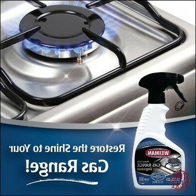 Gas Cleaner Glass Stove Top Weiman