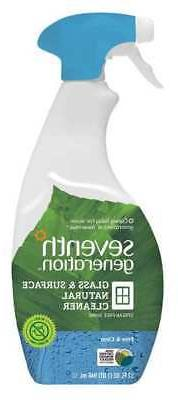 Glass & Surface Cleaner,32 oz,Clear,PK8 SEVENTH GENERATION S