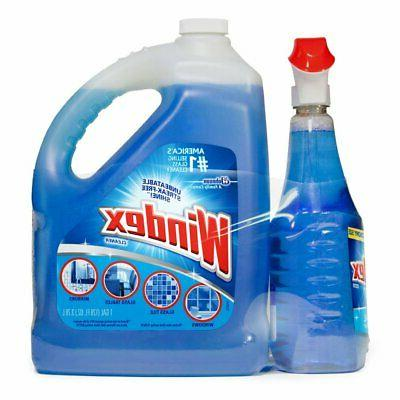 glass cleaner 128 oz refill 32 oz