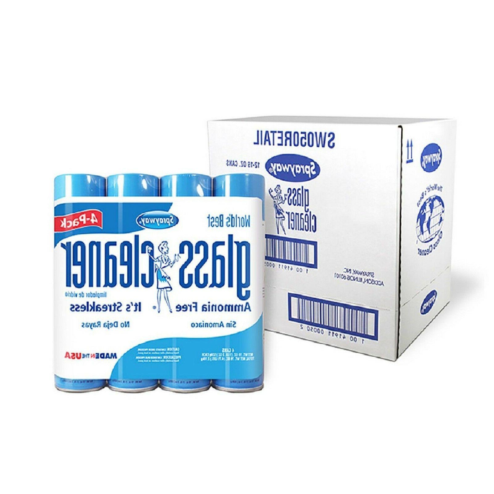 glass cleaner 19 oz 12 pk brand
