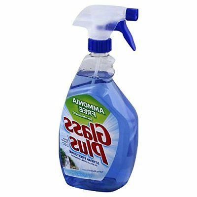 Glass Plus  - Glass & Multi-Surface Cleaner Trigger 32 Ounce