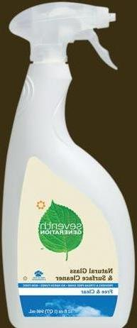 Glass Cleaner Free&Clear  Seventh Generation Brand: Seventh